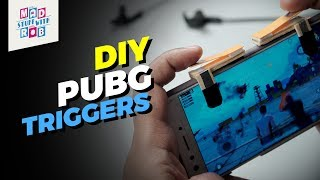 How to Make PUBG Trigger Buttons at Home