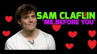 Me Before You: Sam Claflin admits it was hard not to laugh at Emilia Clarke!