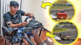 Minhas Habilidades No Simulador De Drift !