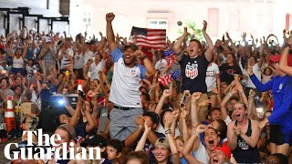 Women's World Cup final: Ecstatic fans react to US victory