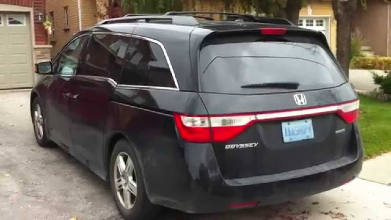 Nice 2012 Honda Odyssey Touring Startup Engine U0026 In Depth Tour   YouTube