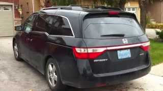 2012 Honda Odyssey Touring Startup Engine & In Depth Tour