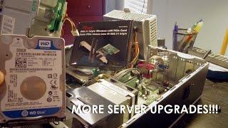 Server Upgrades: Rosewill Wireless card, Caviar Blue Hard Drive in