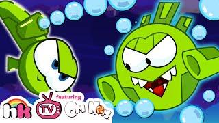 Best of Om Nom Stories: Om Nom vs Nibble Nom   Cut the Rope   Cartoons for Kids by HooplaKidz TV