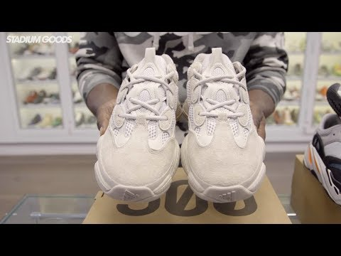 "Unboxing: adidas Yeezy 500 Desert Rat ""Blush"""