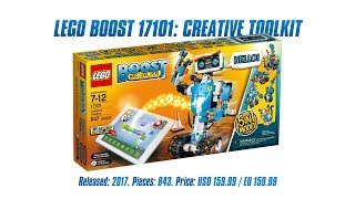 LEGO Boost 17101: Creative Toolbox Unboxing