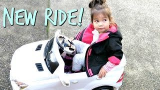 JB'S VERY FIRST CAR! - October 22, 2016  -  ItsJudysLife Vlogs