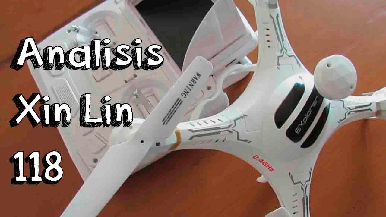 Analisis drone fpv xin lin x118 en espa 209 ol drone con c 225 mara fpv