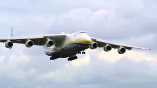 شاهد هبوط أكبر طائرة في العالم - أنتونوف 225