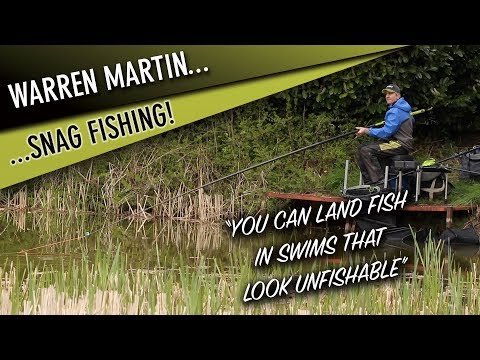 *** Coarse & Match Fishing TV ** Warren Martin Extracting Carp From Snags