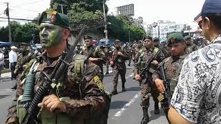 Desfile militar 15 de septiembre 2017 parte #1 EL SALVADOR.