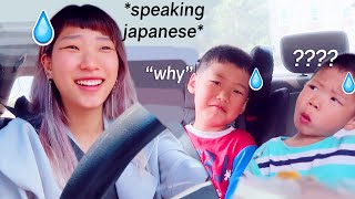 SPEAKING IN JAPANESE TO MY FAMILY FOR 24 HOURS