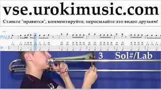 Как играть на Тромбоне Imagine Dragons - Whatever It Takes Табы um-i821