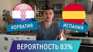 Хорватия Испания прогноз на футбол ЕВРО 2020 28 июня Прогнозы на футбол