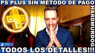 ¡¡¡PS PLUS SIN MET0D0 DE PAG0!!!