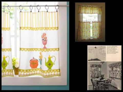 Cafe Curtains Design Ideas, Pictures, Remodel And Decor - YouTube