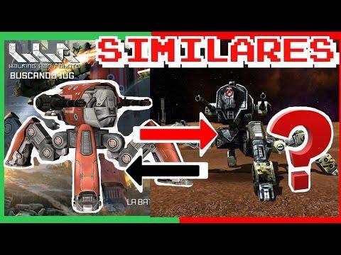 JUEGOS SIMILARES A WAR ROBOTS ?-WAR ROBOTS|WR