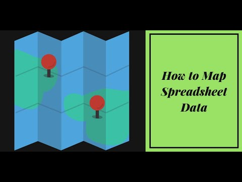 How to Map Spreadsheet Data in Google My Maps