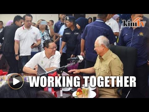 Najib arrives in Penang to assess flood situation