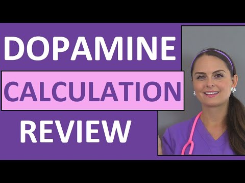 Dopamine IV Drip Calculation & Nursing Considerations Pharmacology  Implications