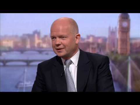 Hague plays down fears over GCHQ