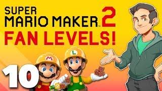 Super Mario Maker 2 - #10 - Clever Bob-omb Puzzles!