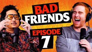 Yellow Cave of Wonders | Ep 7 | Bad Friends with Andrew Santino and Bobby Lee