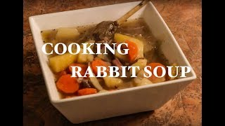 NL Explorer: Cooking Traditional WILD RABBIT SOUP in the Kitchen