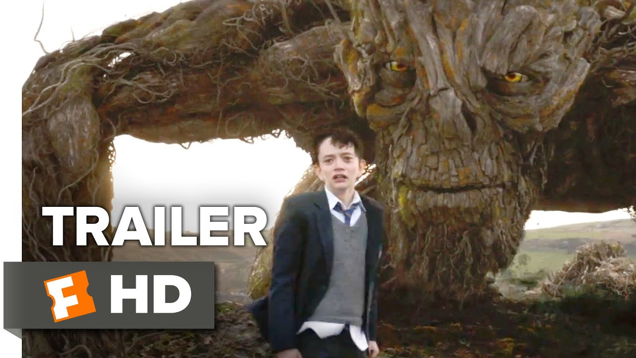 A Monster Calls Official Trailer 1 (2016) - Felicity Jones Movie