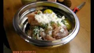 Куриные оладьи с грибами - видео рецепты(Видео рецепт приготовления куриных оладий с грибами в посуде Цептер (Zepter). Подписка на новые рецепты: http://goo...., 2010-02-19T13:35:31.000Z)