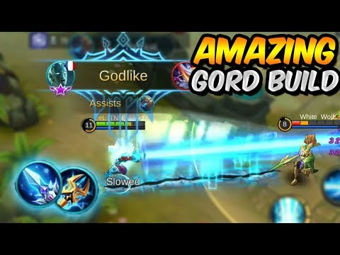 THIS BUFFED GORD BUILD IS AMAZING! MOBILE LEGENDS
