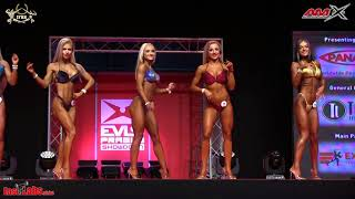 2017 EVLS Prague Showdown - Women's Bikini Fitness up to 160 cm, Zuzana KARDOŠOVÁ