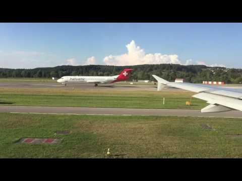 Swiss International Airlines Flight Report - Zurich to Amsterdam Schiphol Airport