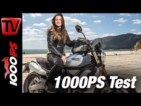 Ducati Scrambler 1100 2018 Test - Onboards, Sound und Erfahrungen der großen Scrambler