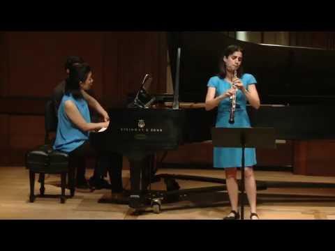 Francis Poulenc: Oboe Sonata FP 185; Katherine Needleman and Amy J. Yang