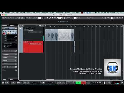CUBASE 10 PUNCH IN PUNCH OUT   CUBASE 10 BEGINNER TUTORIAL IN HINDI   PART 94 thumbnail