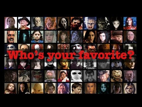 Horror Movie Characters/Slashers: Who's your favorite?