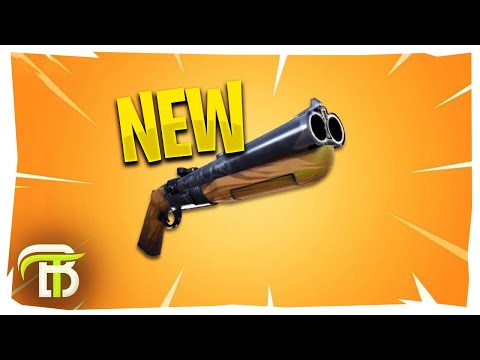 NEW DOUBLE BARREL SHOTGUN IS OP | FORTNITE BATTLE ROYALE