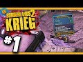 BLITZ KRIEG - Speedfun to Level 80 Krieg - Day #1 Borderlands 2