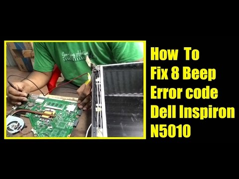 How to Repair display Problem Dell Inspiron N5010 I Graphics Chip Problem I Nvidia Chip Problem