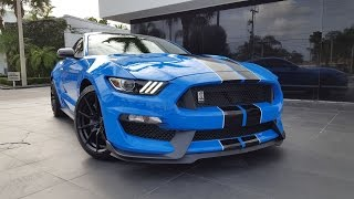 2017 Ford Mustang Shelby GT350 Loud Sound Acceleration Interior Exterior at Prestige Imports Miami
