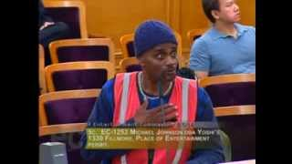 Funniest public comment at SF City Hall Commission meeting - Ace on the Case