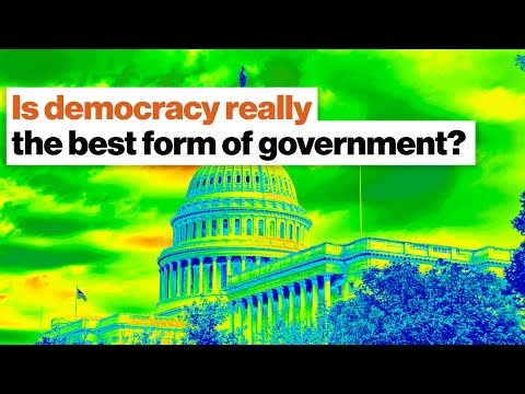 Is democracy really the best form of government? | Steven Pinker