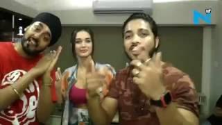 9 million: raftaar, manj musik and amy celebrate 'lak hilaade'