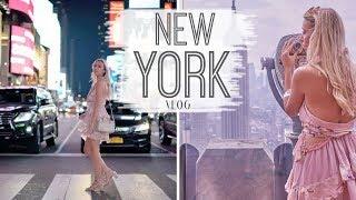 NEW YORK VLOG, HELICOPTER RIDES, TIMES SQUARE, BROOKLYN BRIDGE, NYC SHOPPING | Scarlett London