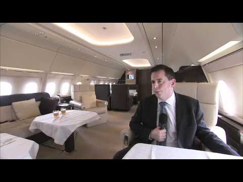 Singapore Airshow 2012 - Focus on AIrbus Corporate Jets
