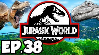 Jurassic World: Evolution Ep.38 - ISLA PENA 5 STARS, SCIENCE DINOSAURS MISSION (Gameplay Let's Play)