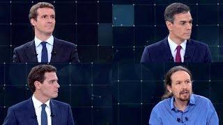 La sombra de Vox condiciona a Pablo Casado en el primer debate a cuatro