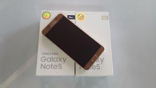 فكرة مبسطة عن مواصفات Samsung galaxy note 5