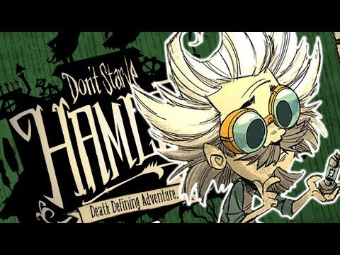 FIRST LOOK - Don't Starve HAMLET - WAGSTAFF & WHEELER - NEW CHARACTERS!
